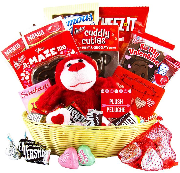 Valentine's Day Gift Basket - Chocolates, Candy, Hearts - Gift Assortment(25 Count) *** Want to know more, click on the image.