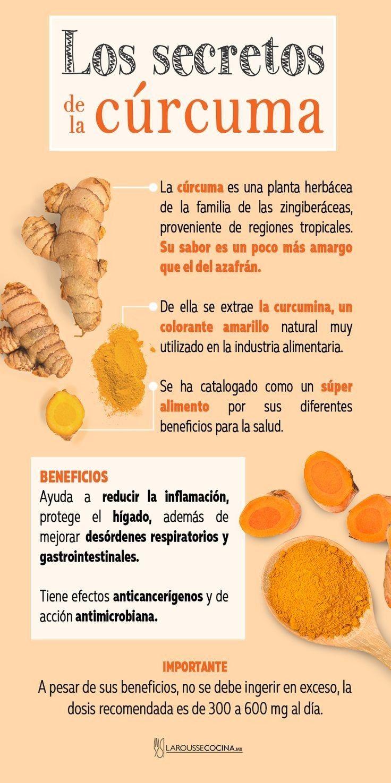Los Secretos De La Cúrcuma Healty Eating Turmeric Benefits Holistic Nutrition