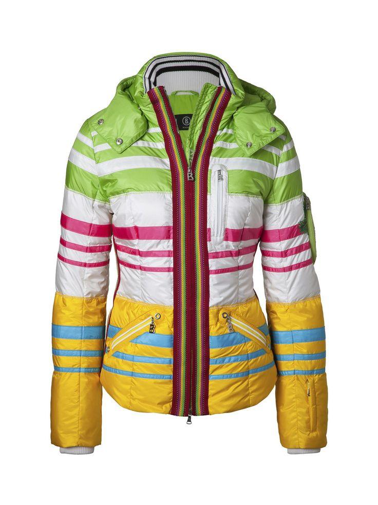 Down Jacket Nina, Kiwi | Women's Ski Jackets, Ski Wear | Bogner