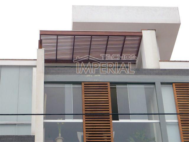 Techos de madera techos de terrazas techos para terrazas - Techos para terrazas ...