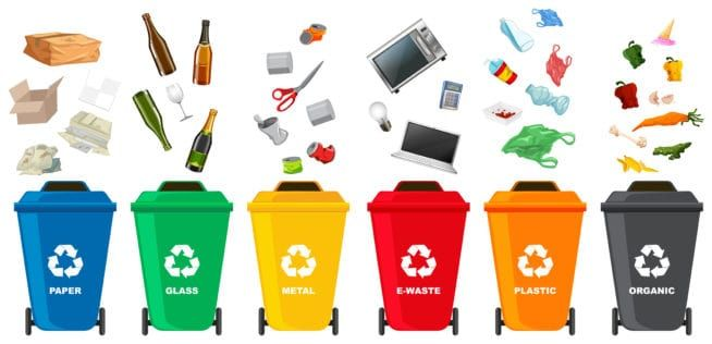 Recycle Bin Round Icon Ad Ad Affiliate Icon Bin Recycle Recycling Bins Recycling Icon