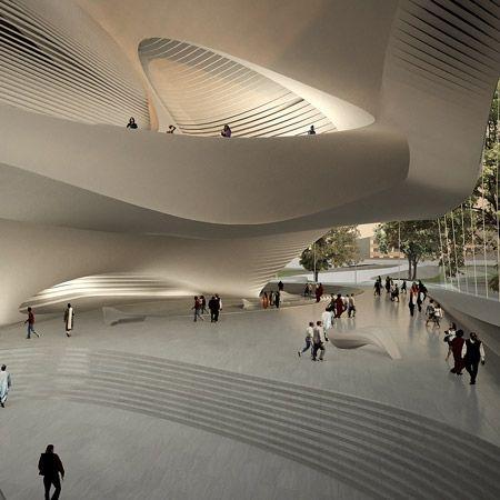 by zaha hadid architects