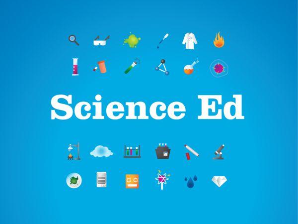 Science Ed by Alexa Falcone, via Behance