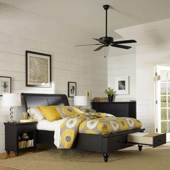 Costco Ashfield 4 Piece Queen Bedroom Set Bedroom Pinterest Black Bedroom Sets And Storage