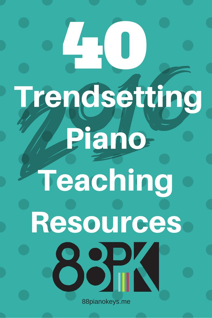 Packed with ideas for professional enrichment, apps, repertoire, games, improvisation...and more! http://88pianokeys.me/fresh-ideas/a-look-back-at-trendsetting-piano-teaching-resources-in-2016/