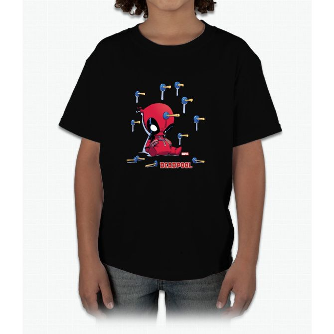 Deadpool Toy Darts Young T-Shirt