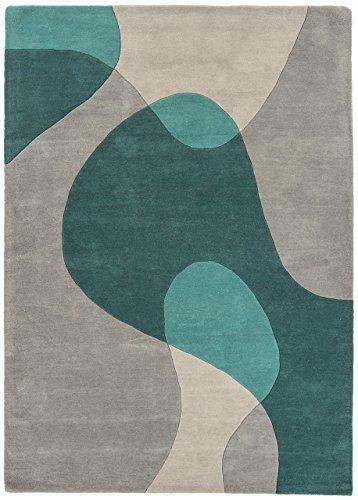 Teppich Wohnzimmer Carpet modern Design MATRIX ARC GEOMETRIE RUG 100