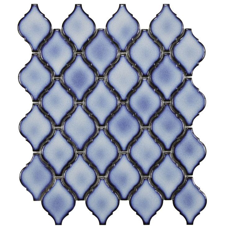 Arabesque Backsplash Tile   Aella