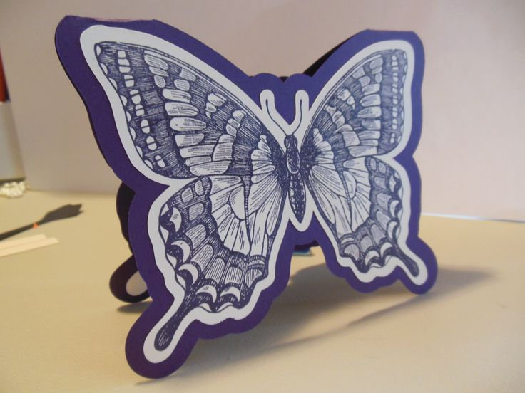 how to make a paper butterfly 25 best cards su best of butterflies images on 7790