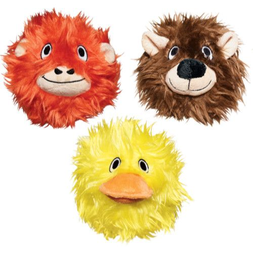 KONG Cat Softies Fuzzy Ball From £5.26