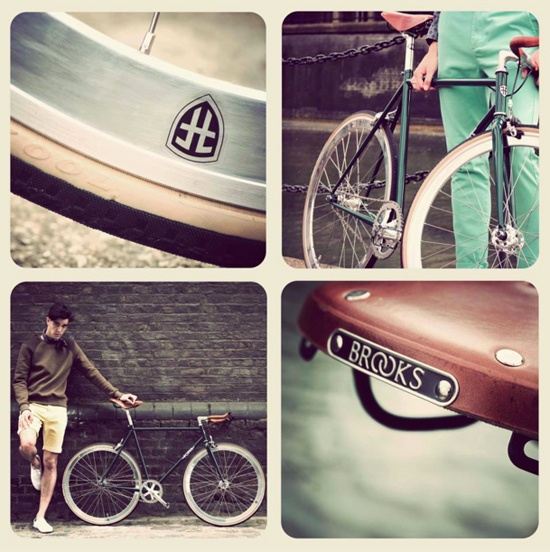 Foffa bikes – cool English bespoke classic geared and single speed bikes