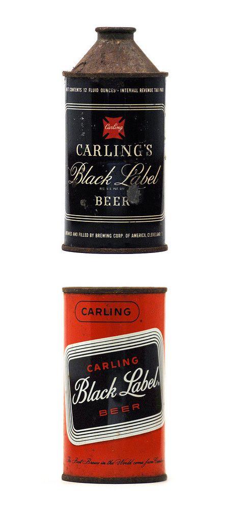 Vintage Beer Cans {H} #huddletwit