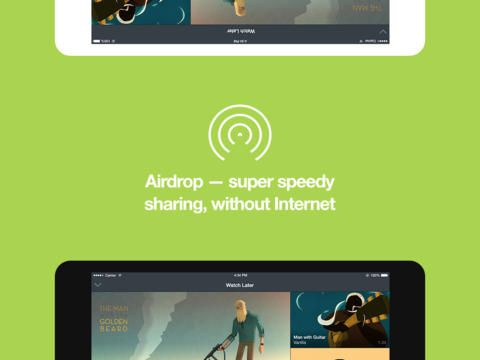 #Vimeo updates #IOS App with Airdrop  Incoming Social feed