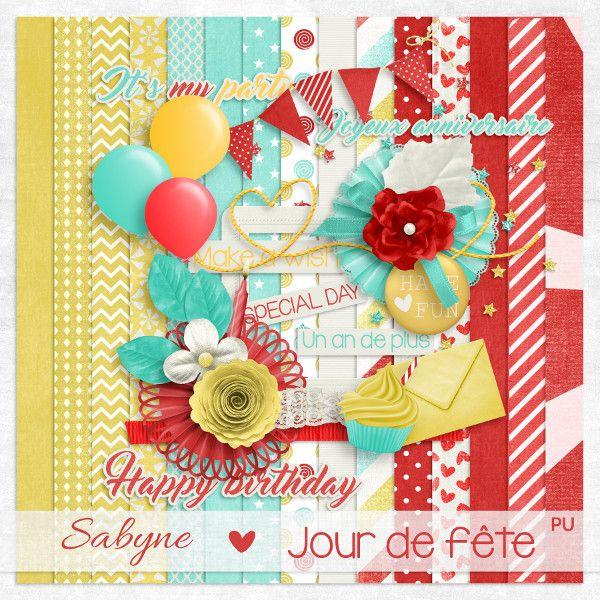 """Kit Sabyne """"Jour de fête"""""""
