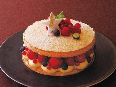 christmas shortcake.