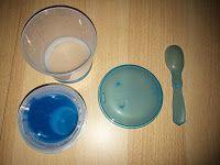 Produkttests und mehr: Müsli To Go Becher mit Milch-Kühlfach & Löffel, Mü...
