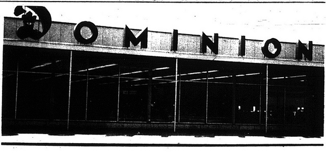 Dominion St-Michel blvd, Montreal, Qc 1964 by Grocerymania, via Flickr