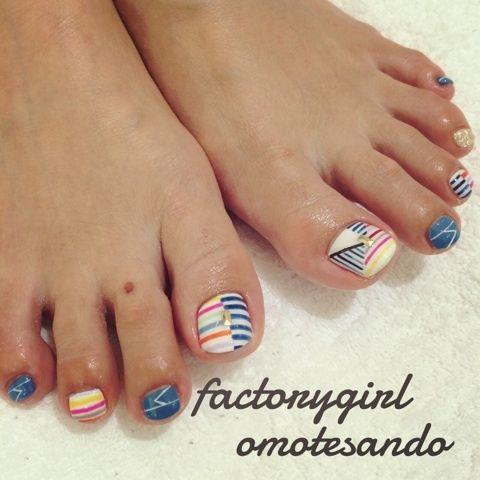 Toenails by factorygirl