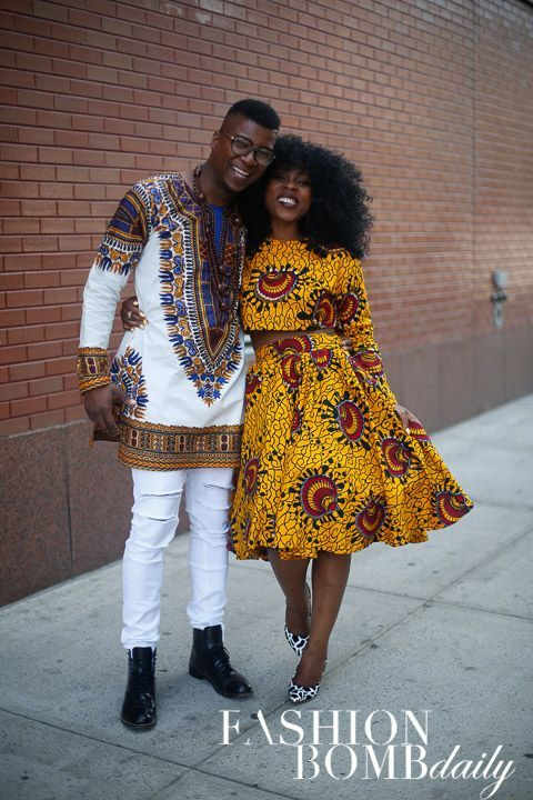 Its African inspired.