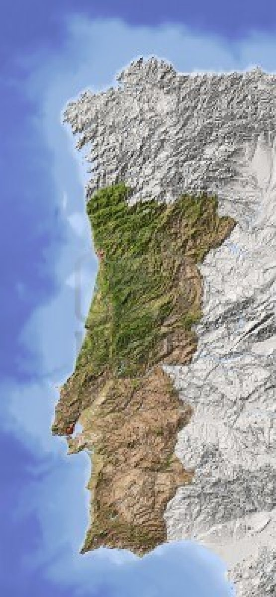 The Best Map Of Portugal Ideas On Pinterest Sintra Portugal - Portugal map coast