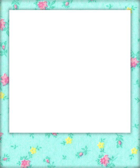 Shabby Blogs: Vintage Freebie with Keren: Vintage Floral Polaroid Frames