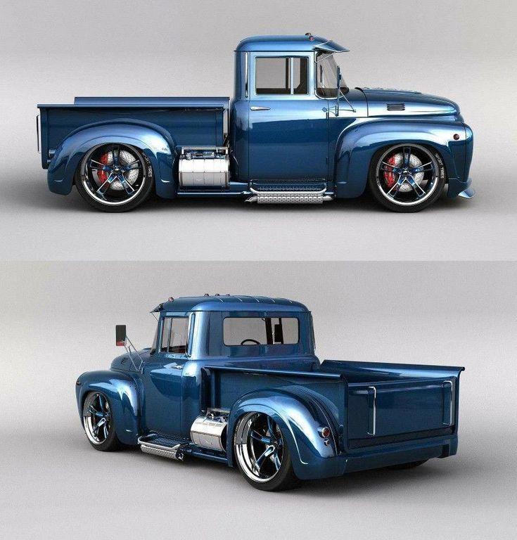 große Lastwagen #Pickuptrucks   – US Cars,Hot Rods und coole Bikes