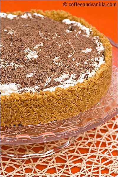 Banoffee Pie - Banana & Toffee No Bake Cake Recipe