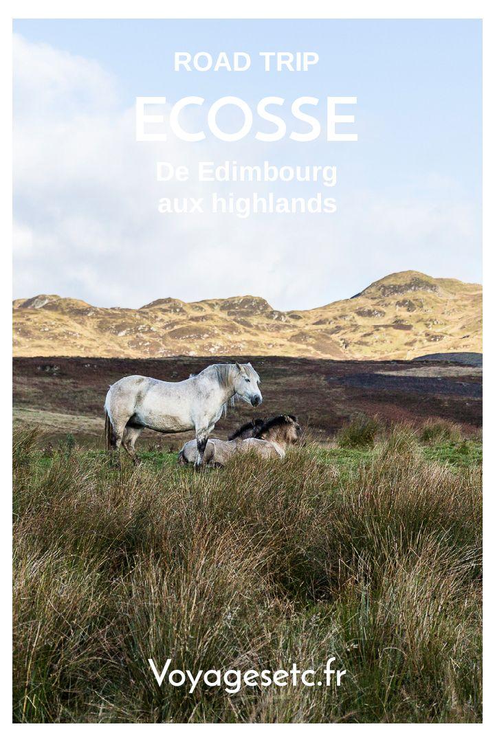Voyager en Ecosse : que faire en 4 jours entre Edimbourg et les Highlands #ecosse #highlands #scotspirit