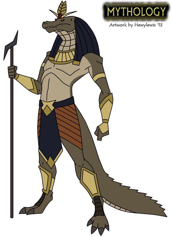 Mythology - Sobek by Hewylewis on deviantART
