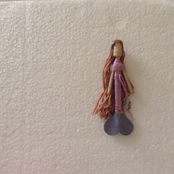Toothpick mermaid