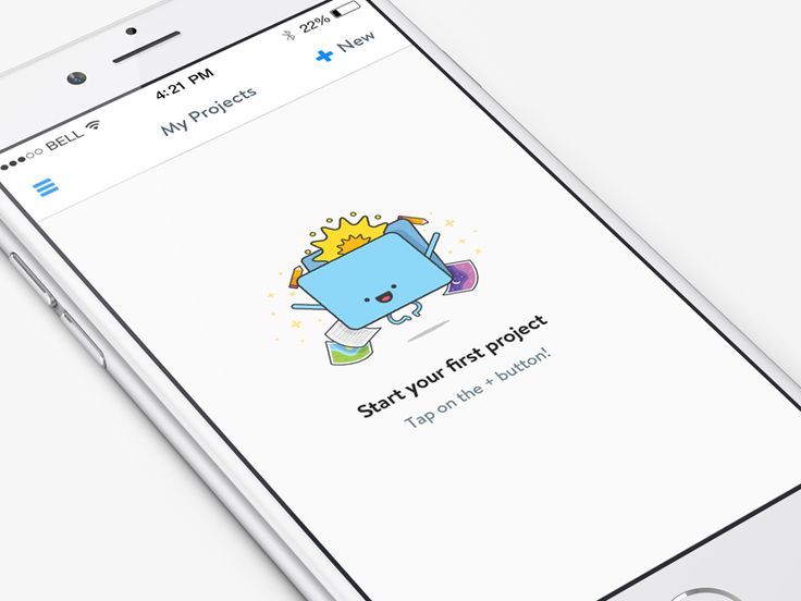 New iPhone, new empty state!   @Henrique Athayde worked his magic again!  Looking forward to releasing a new version of our iPhone app, iterate iterate iterate.  Say hello on  Twitter  ---------  M...