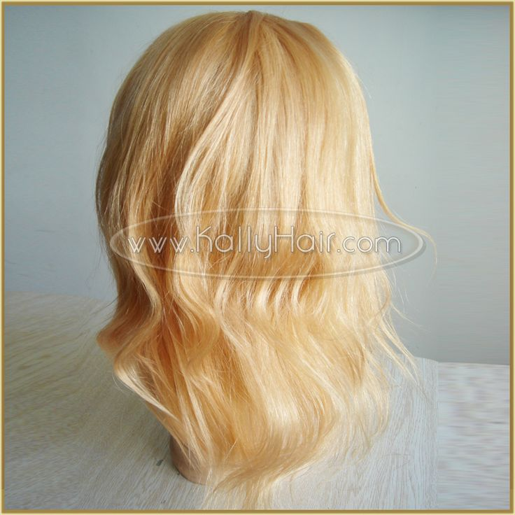 10inch Natural Brazilian Human Hair Silk Full Lace Wigs
