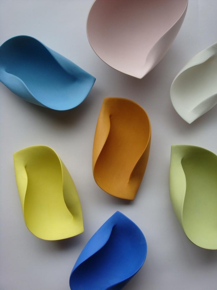 takuro kuwata #ceramics #pottery beautiful shapes for windchime