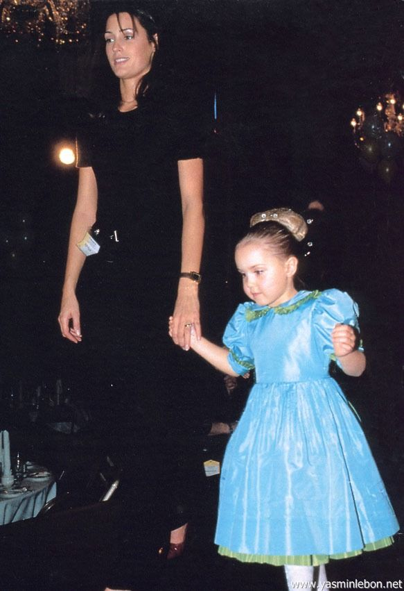 Yasmin and Saffron Le Bon 1995 AIDS Benefit hello november