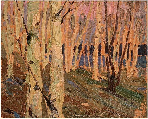 Tom Thomson Catalogue Raisonné | Birch Grove, Summer 1915 (1915.63) | Catalogue entry
