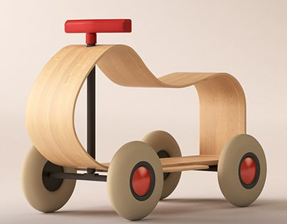 """Check out new work on my @Behance portfolio: """"Children car by Sirch"""" http://on.be.net/1QawD5q"""
