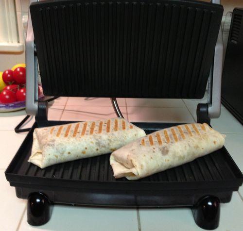 Panini Burritos...cannot wait to make these!