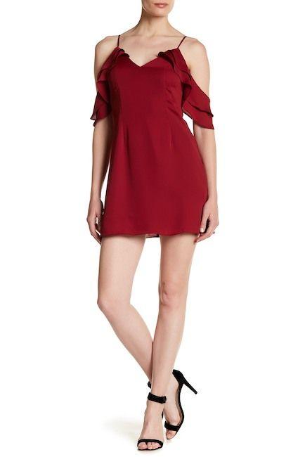 MAJORELLE Prestige Cold Shoulder Dress