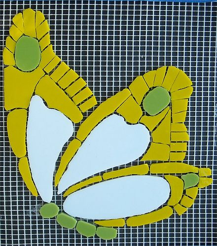 Mosaic Butterfly Project: Artist: Cindi Buhrig