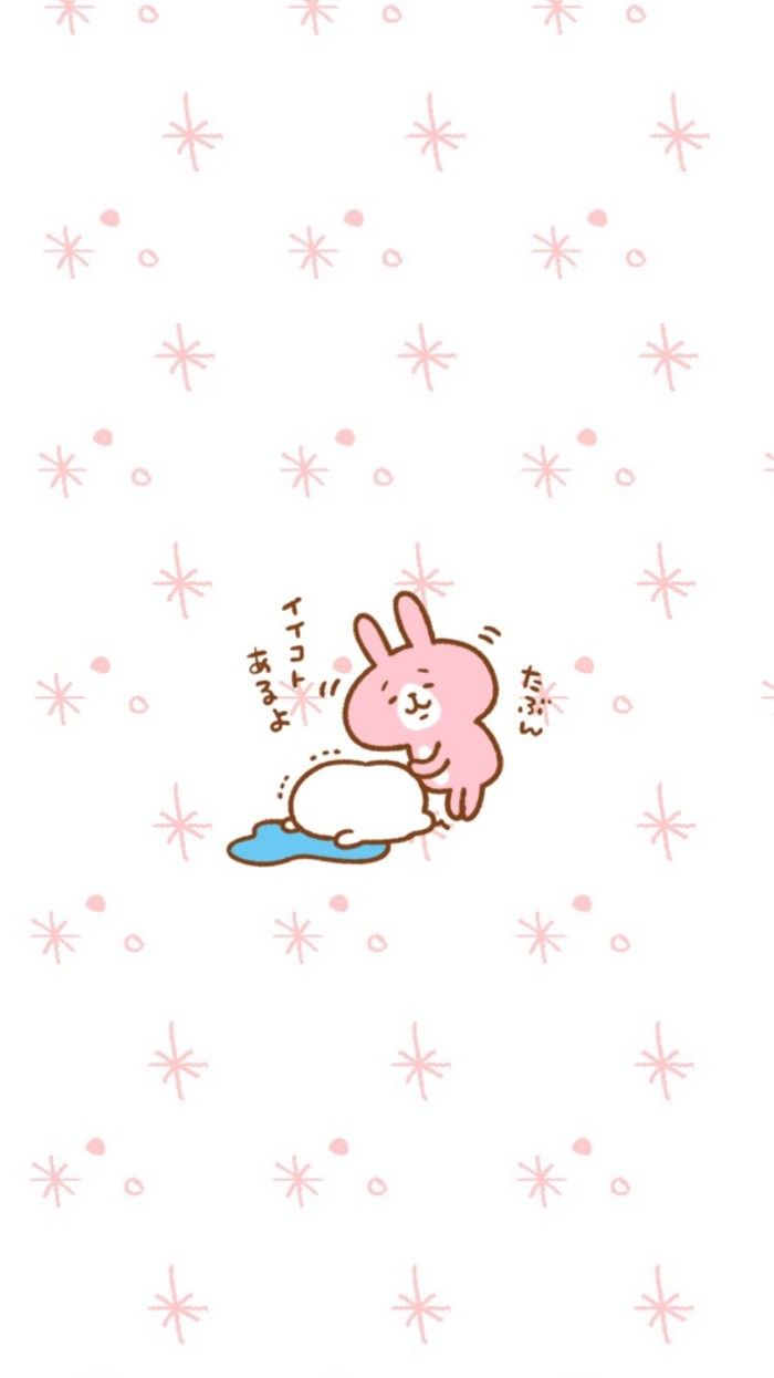 kanahei カナヘイ wallpaper墙纸 卡通兔兔【喜欢请点进专辑】