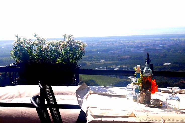 View from Castagneto Carducci