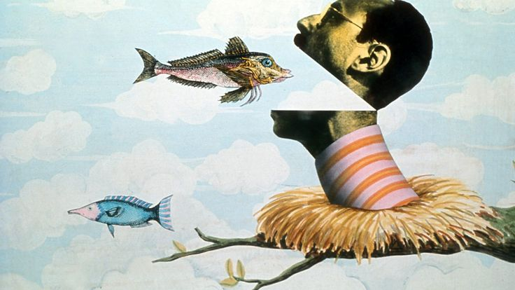 Terry Gilliam - animation for Monty Python's Flying Circus.