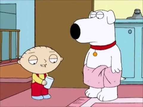 Family Guy Stewie Beats Up Brian ( All Scenes ) - Sleezy Tv