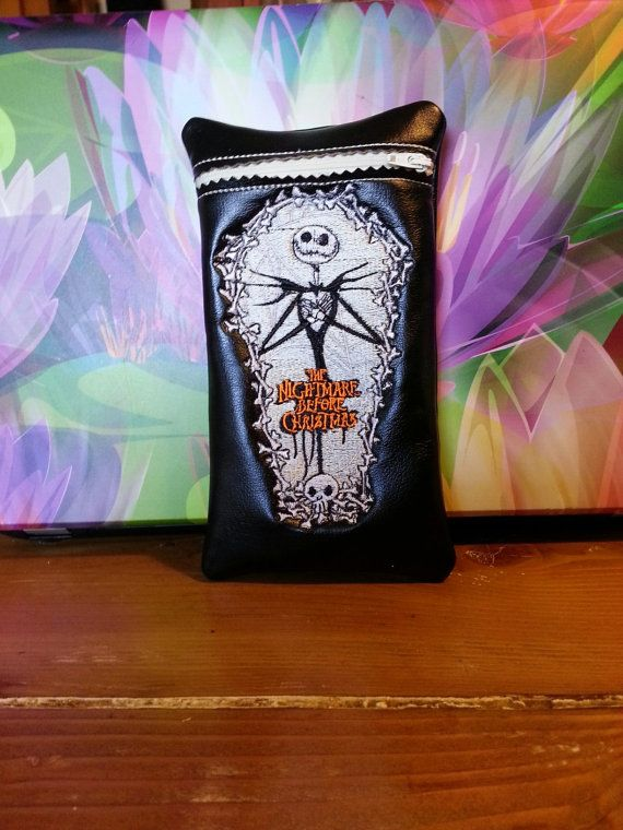 Custom glass pipe case. Nightmare before by RedNeckRagsCreations, $14.00