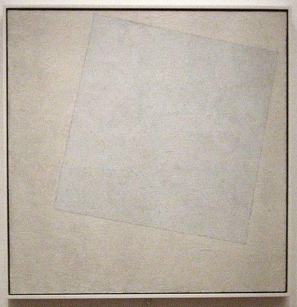 [Kazimir Malevich] Suprematist Composition - White on White, 1918