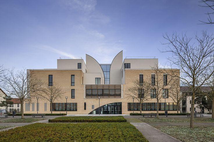 Music and Dance Center, Soissons / Henri Gaudin architecte - 谷德设计网