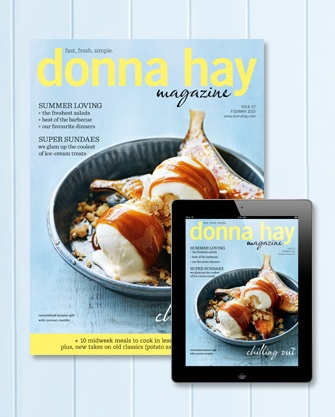"""Donna Hay magazine summer issue, 2013. """"Good Taste Deserves Superior Comfort"""" - The Cloud by HotelHome. #thecloud #hotelhomeaust"""