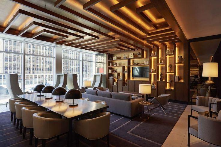 Jeffrey Beers International designs New York City's first digitally enhanced hotel, Renaissance New York Midtown Hotel