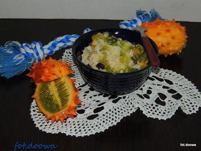 Moje Małe Czarowanie: Pudding ryżowy z kiwano