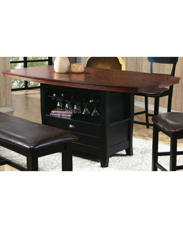 Counter Height Bench Seat With Storage